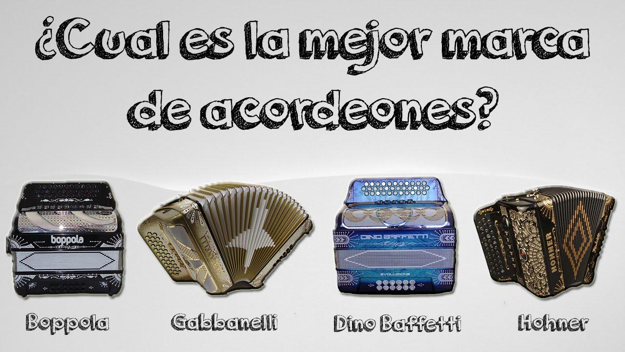 Cuál es la mejor marca de acordeones? Gabbanelli - Hohner - Boppola ...