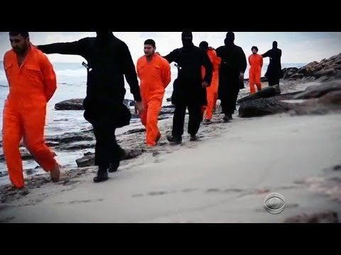 New ISIS video shows execution of 21 Christians