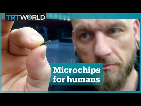 Craig Stevens -  People are getting microchips implanted to replace their credit cards.