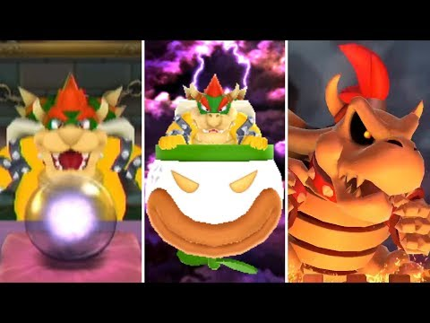 Evolution of Bowser Minigames in Mario Party 19982017