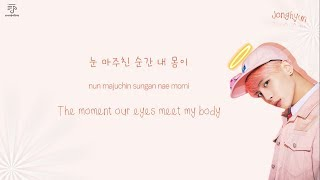 JONGHYUN 종현 - Shinin' 빛이 나 Color-Coded-Lyrics Han l Rom l Eng 가사 by xoxobuttons