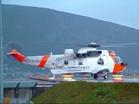 Westland Sea King Mk.43B take-off from UNN