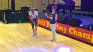 Camp Hollywood 2015 Mike & Casey - dancing between the beats