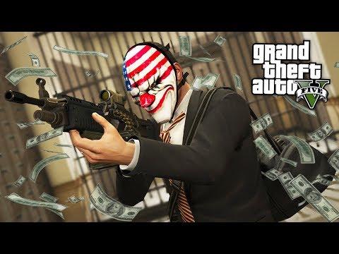BANK HEISTS & ATM ROBBERIES!! (GTA 5 Mods)
