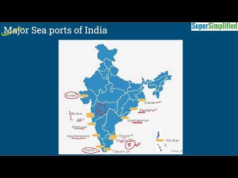 Major Sea Ports of India | UPSC | SSC | All Competitive Exams