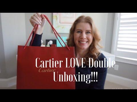 Cartier Double LOVE Unboxing!!!
