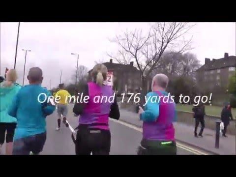 My Wembley Half Marathon for Educate The World (UK)