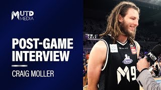 Rd 6: Melb Utd vs. Brisbane Bullets - Pots-Match Interview with Craig Moller