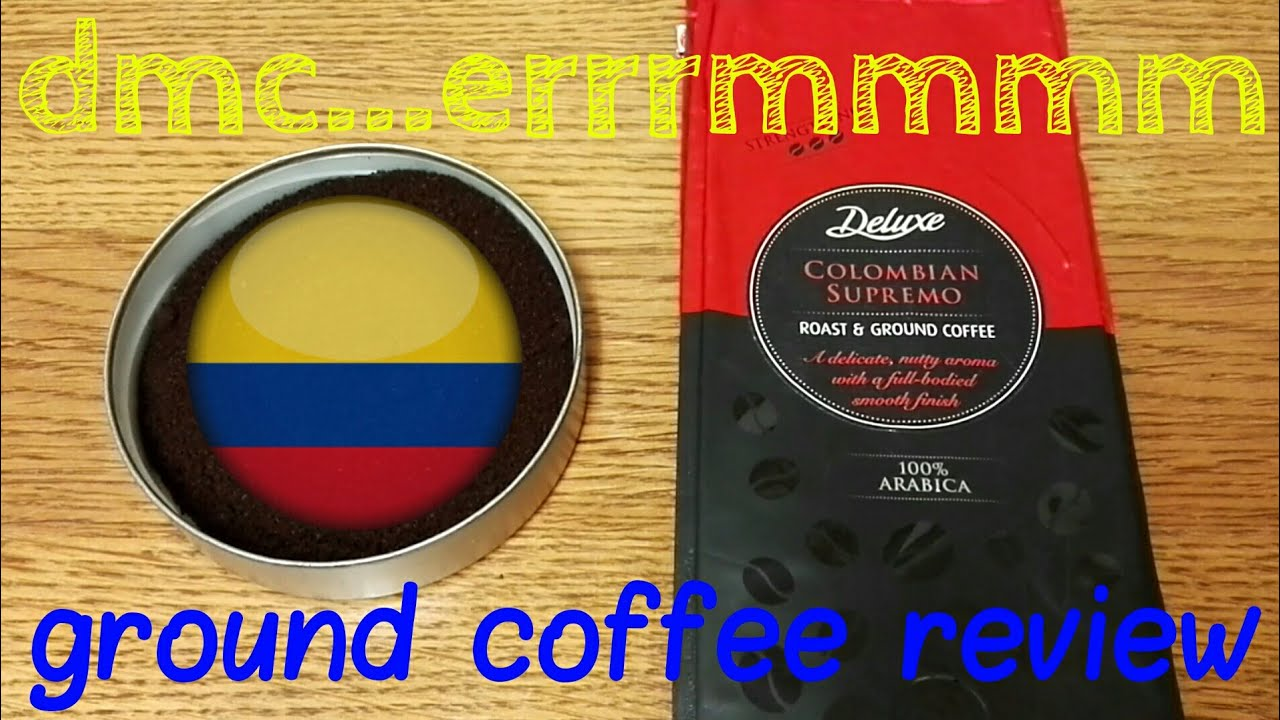 Lidl Deluxe Colombian Supremo Roast Ground Coffee Review