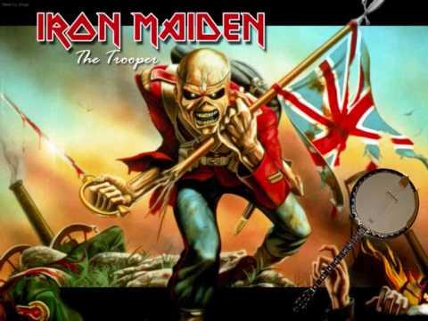 Iron Maiden -The Trooper Banjo Version