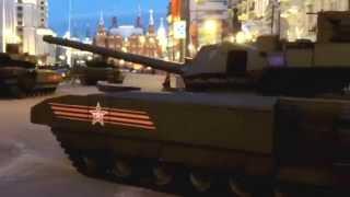 Newest russian tank T-14 'Armata'