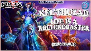 Grubby | Heroes of the Storm - Kel'Thuzad - Life is a Rollercoaster - HL 2018 S3 - Volskaya Foundry