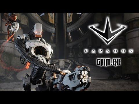 видео: paragon - Грим + Новая карта Монолит