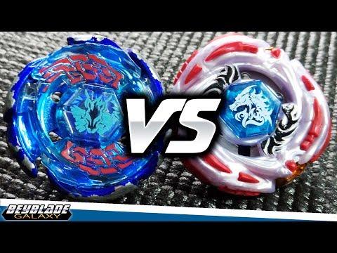 Galaxy Pegasus W105L2F vs Meteo L-Drago LW105LF - [Metal Fight Beyblade] - ベイブレード