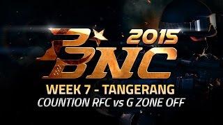 PBNC 2015 Final Lokal W7 : Tangerang - Countion RFC vs G Zone Off