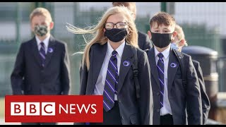 Secondary school attendance in England falls due to Covid with north worst affected - BBC News