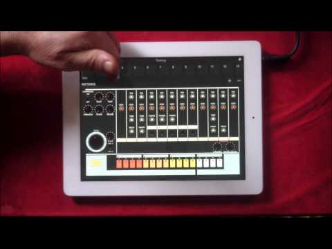 Boom 808 From Pulse Code, Demo For The IPad