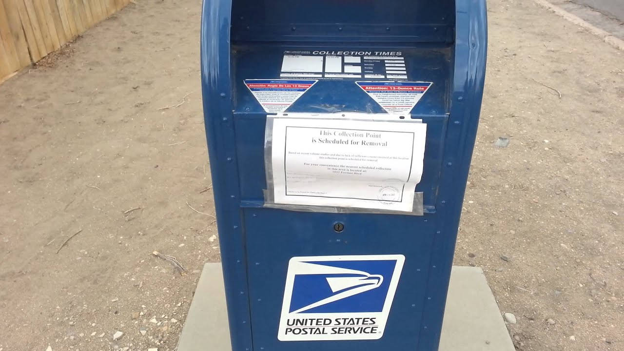 Usps drop boxes going away for Good