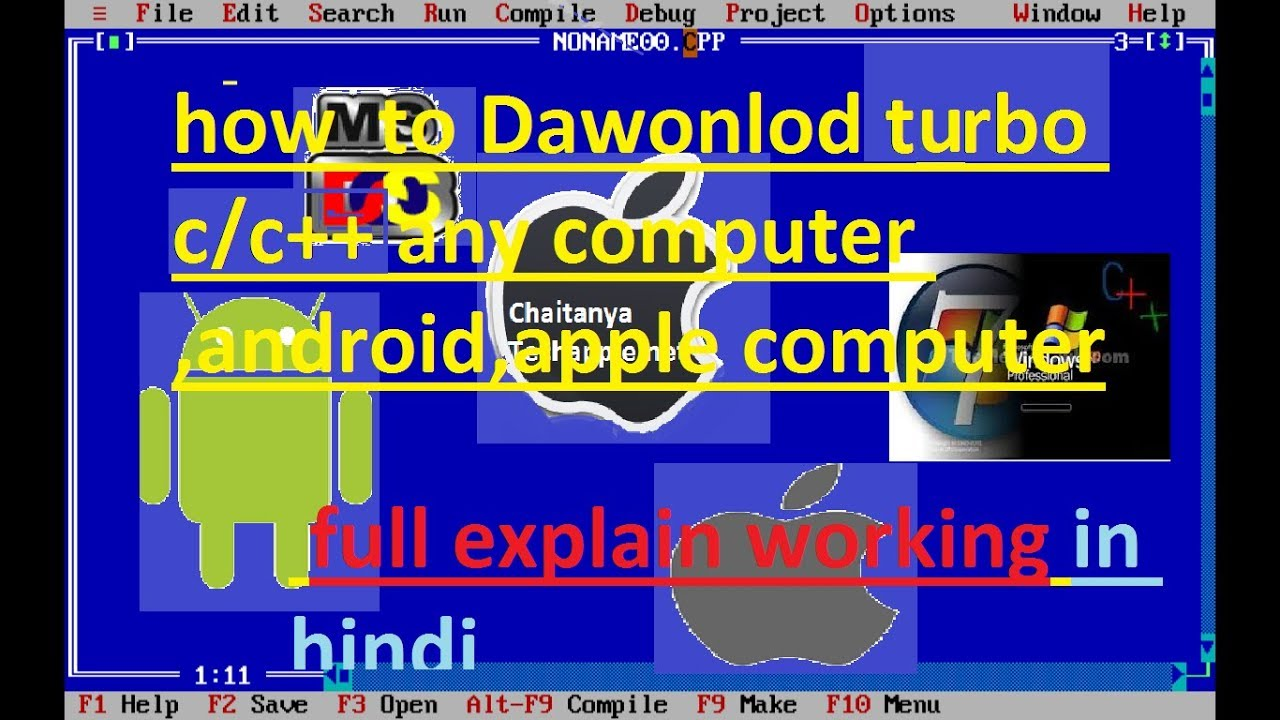 💋 Turbo c software free download for ubuntu | c++ compiler