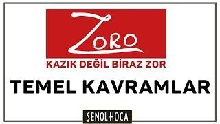 ZORO / TEMEL KAVRAMLAR SORU ÇÖZÜMÜ - ŞENOL HOCA