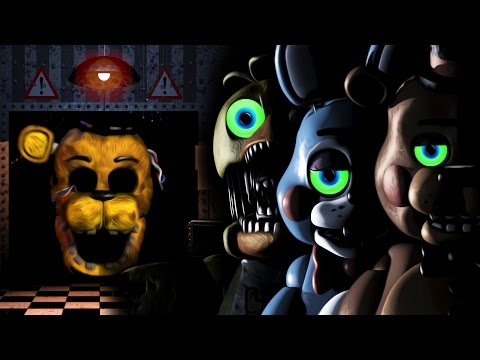 EVERYTHING WANTS TO KILL ME | Five Nights At Freddy's 2 - Night 3 & 4 complete