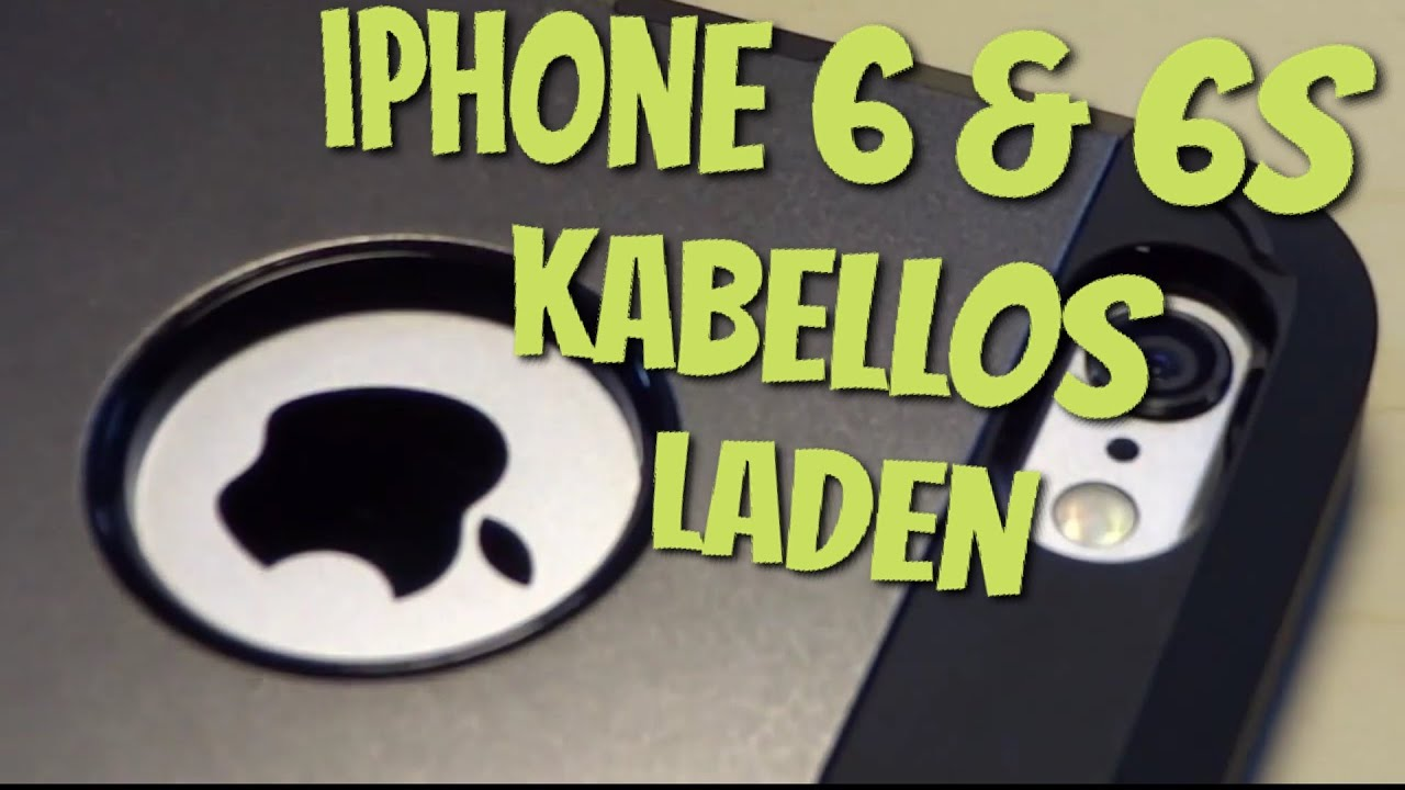 iphone 6 6s kabellos laden mit dem tough armor volt case qi wireless charging im test. Black Bedroom Furniture Sets. Home Design Ideas