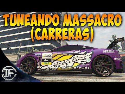 GTA V Online - TUNEANDO NUEVO MASSACRO (CARRERAS) - Vehículos GTA 5