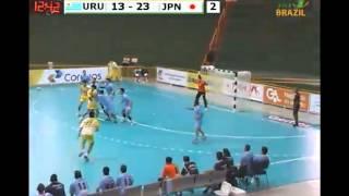 ハンドボール 世界ジュニア URU vs JPN 2nd