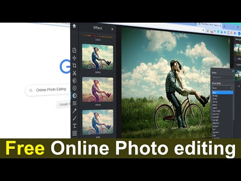 Free Online Photo Editor || How To Use Pixlr Photo Editor || ONLINE PHOTO EDITING SOFTWARE