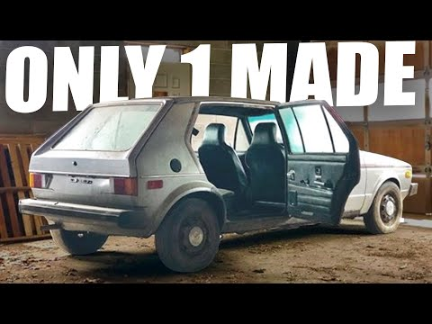 The Craziest VW Barn Find?! Taxi MK1 Prototype