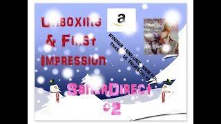 Diamond Painting Unboxing & FI & TT WINNER #3 - Snowman 4 Pack - SanerDirect on Amazon