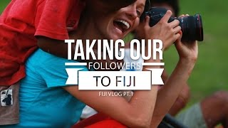 Taking Our Followers to Fiji [Fiji Vlog Pt. 1]