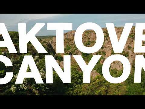 Aktove Canyon. Ukraine.