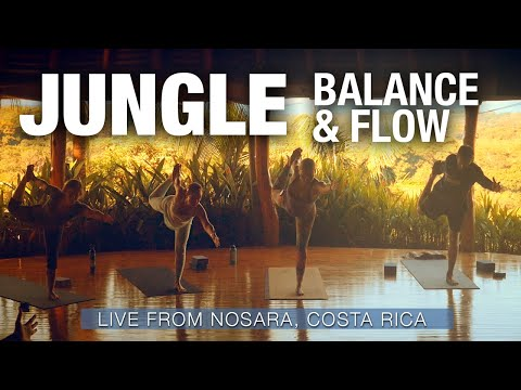 Balance & Flow in the Jungle Yoga Class (live) - Five Parks Yoga