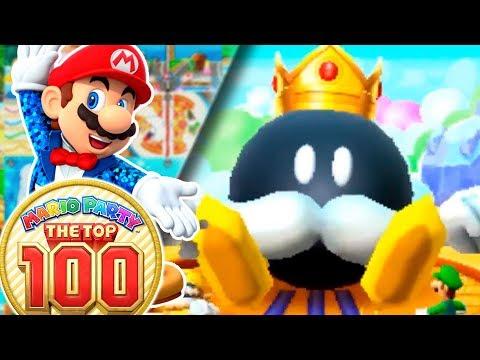 EL REGRESO DEL REY BOB-OMBA! | ✨ Mario Party: The Top 100 ✨ | Ep 4 con -- ALEX & YADIRA --