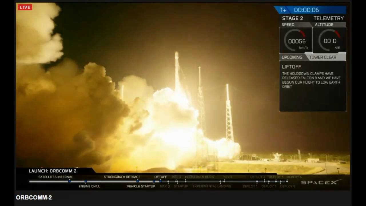 spacex falcon 9 booster history making landing