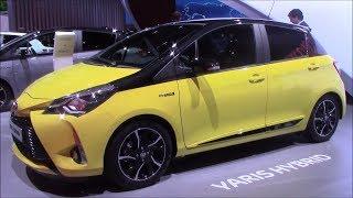 2018 Toyota Yaris hybrid Bi-Tone Edition | Frankfurt Autoshow 217