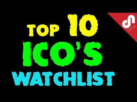 ⭐️TOP 10 Best ICO's Watchlist | New Initial Coin Offerings For The First Quarter Of 2018 | 🤑🚀