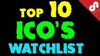 ⭐️TOP 10 Best ICO's Watchlist | New Initial Coin Offerings For The First Quarter Of 2018 | 🤑🚀(, 2018-01-06T15:57:10.000Z)