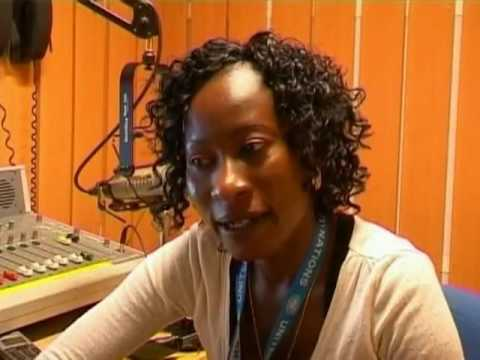 Paul Ndiho -Sudan Radio Presenter has taken over the Air Waves.