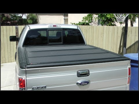 Tri-Fold Truck Bed Cover Installation