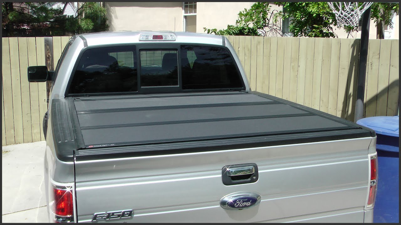 8cd936ffb8c Tri-Fold Truck Bed Cover Installation - YouTube
