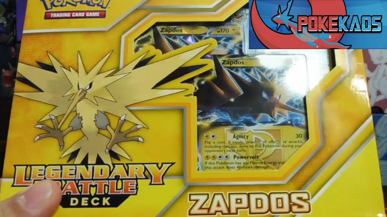 Zapdos Ex Card