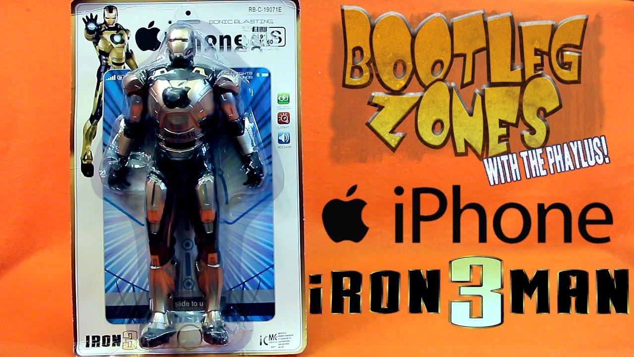 bootleg zones iphone iron man youtube bootleg iron man 2 starring