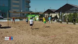 Пляжный волейбол (день физкультурника) 99-ВагРам