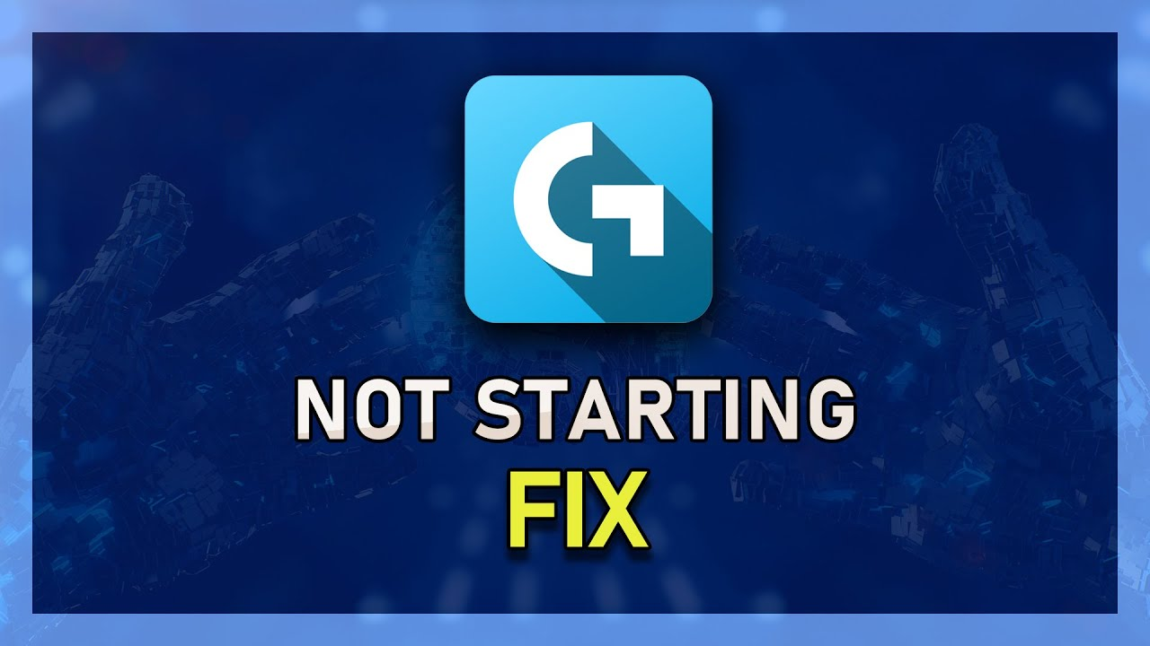 Logitech Gaming Software Not Starting Fixed! (2019)
