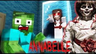MONSTER SCHOOL : ANNABELLE COMES HOME HORROR CHALLENGE! - Minecraft Animation