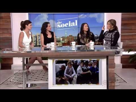 "Erica Durance co-hosting ""The Social"""