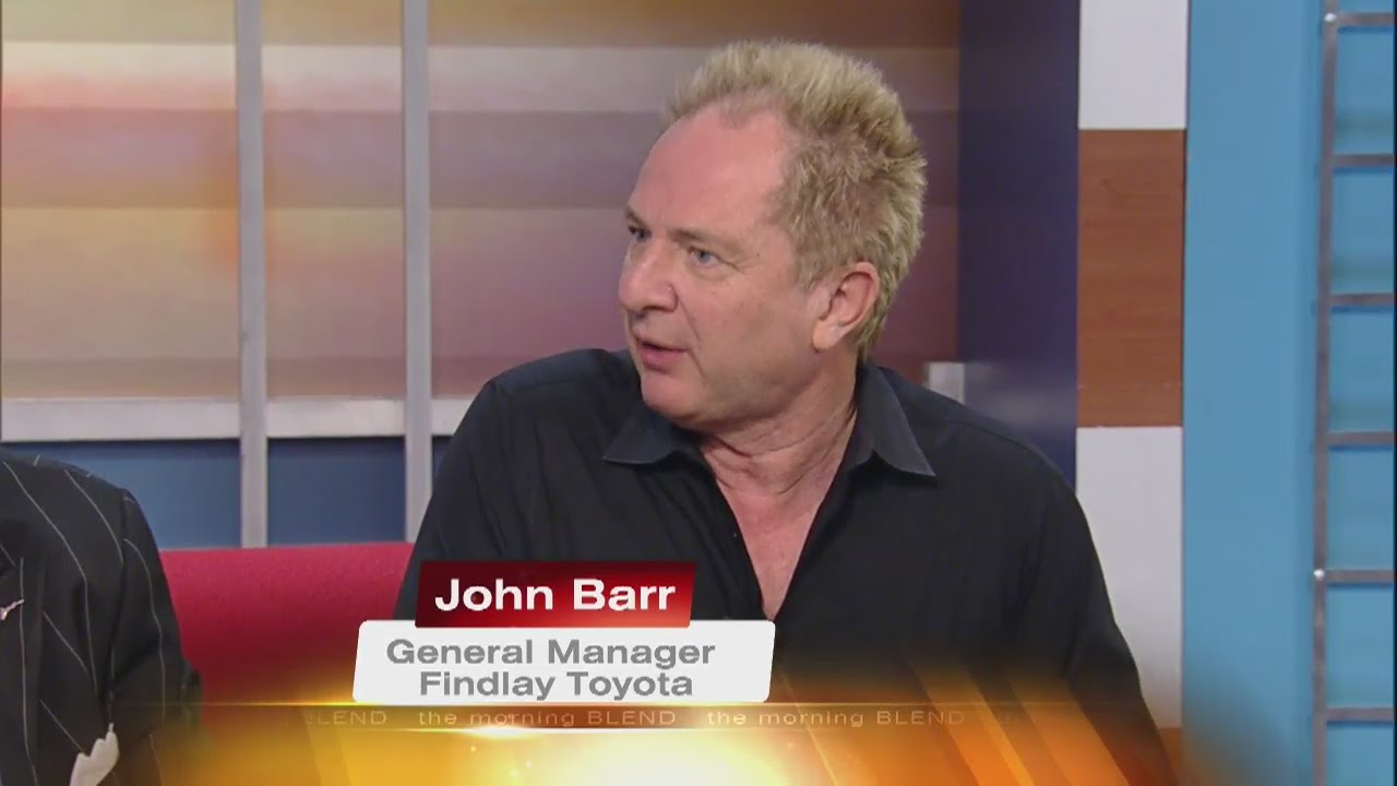Findlay Toyotau0027s John Barr Joins Us To Kick Off The 13 Days Of Giving  Holiday Toy Drive. KTNV Channel 13 Las Vegas