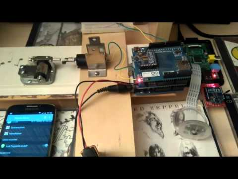 My openHAB Raspberry Pi Arduino XBee Led Zeppelin Music